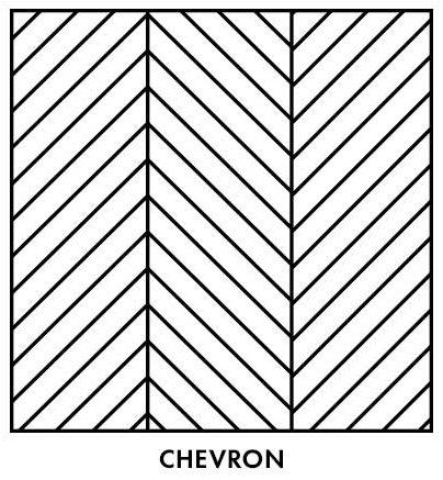 Parquetry-chevron